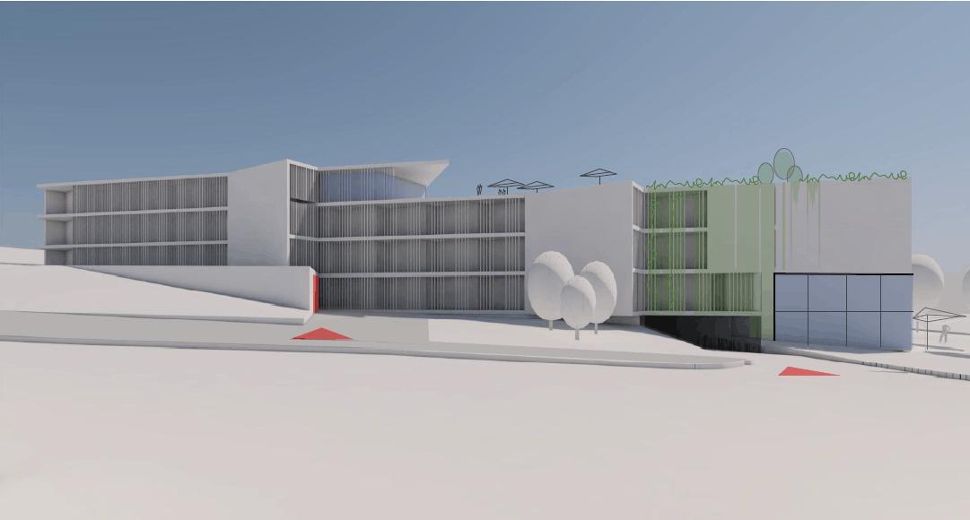 Sanatorium Pálava vizualizace